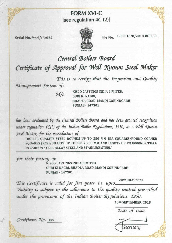 Ibr Certificate Valid Upto 20.07.2023