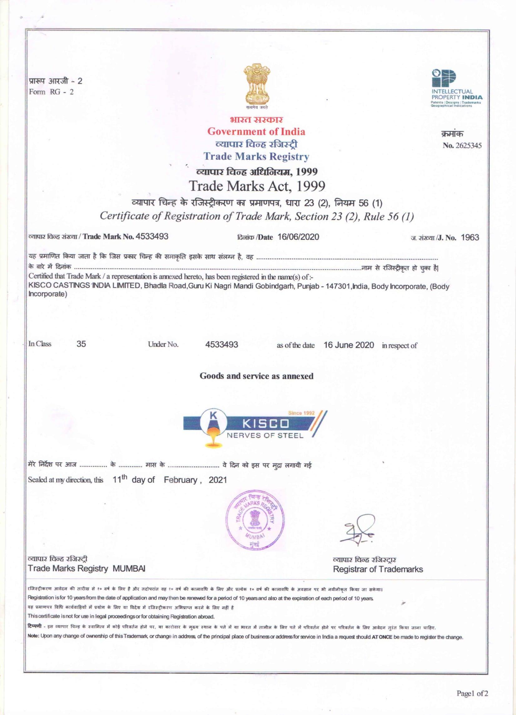 Trade Marks Registry 4533493